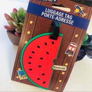 New watermelon red  luggage tag